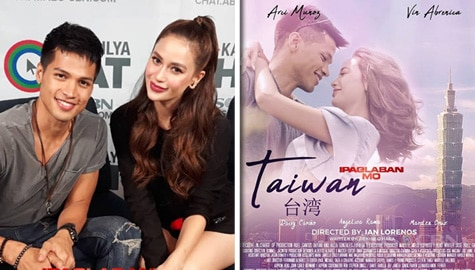 "Vin and Arci's most unforgettable experiences while shooting Ipaglaban Mo ""Taiwan"" Image Thumbnail"