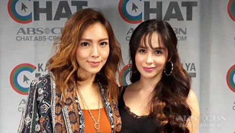 Empress and Nina's answers in Kapamilya Chat's Nasubukan Mo Na Ba? Challenge Image Thumbnail