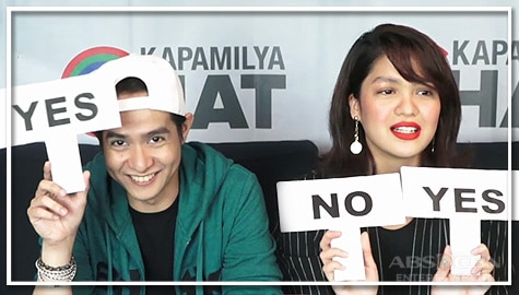 Jane Oineza and Hero Angeles take on the Yes Or No Challenge Image Thumbnail