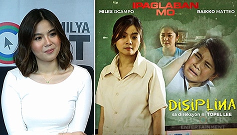 """Miles Ocampo talks about her role as Teacher Maricel in Ipaglaban Mo """"Disiplina"""" Image Thumbnail"""