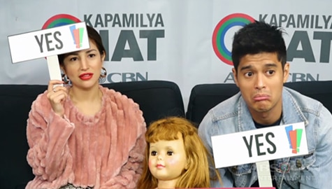 Yes Or No Challenge with Barbara Reimagined stars Nathalie Hart and JC de Vera