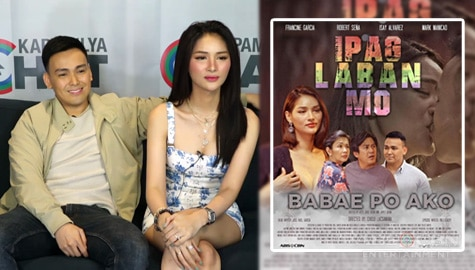 "Francine Garcia and Mark Manicad talk about their roles in Ipaglaban Mo  ""Babae Po Ako""  Image Thumbnail"