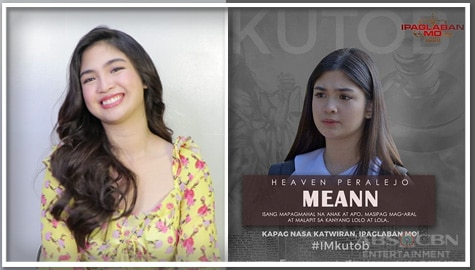 "Heaven Peralejo's memorable experience on Ipaglaban Mo: ""Kutob"""