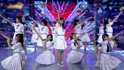 MNL48 sings 365 Araw ng Eroplanong papel on It's Showtime Image Thumbnail