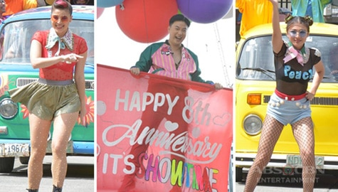 Team Anne, Ryan & Nadine's colorful Love Parade  Image Thumbnail