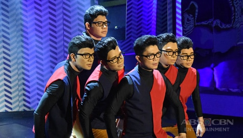 Team Vhong's powerful dance routine and mirror illusion act  Image Thumbnail