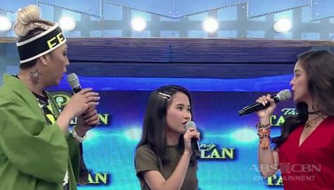 It's Showtime: Vice Ganda, na-left out sa usapan nina Kim at daily contender Kyla Image Thumbnail