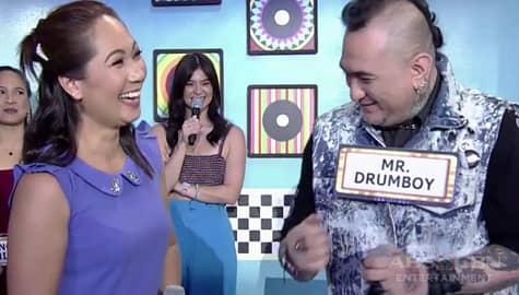 It's Showtime: Mr. Drumboy, tuwang-tuwang nang piliin siya ni Care Dela Fuente Image Thumbnail