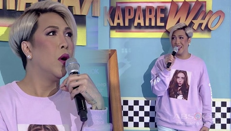 It's Showtime: Vice Ganda, minsan hinabol ang tennis player para magpa-picture Image Thumbnail
