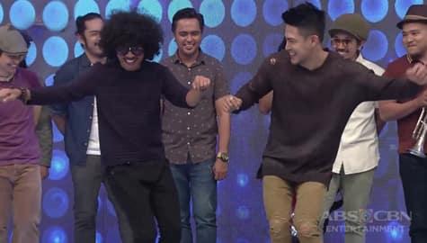 It's Showtime: Ion, itinuro ang Lintik na Pag-ibig dance moves sa Brownman Revival Image Thumbnail