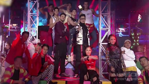 It's Showtime: Kim, Sheena, Billy, Vhong & Escalona twins fire up the stage as they dance to K-Pop hits! Image Thumbnail