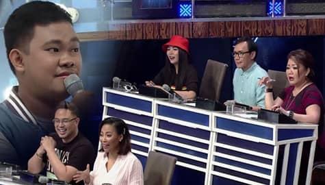 It's Showtime: Hurados, napanganga nang ginaya ni daily contender Christian Faunillan ang boses ni Erik Santos Image Thumbnail