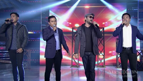 Noven, Ato & Reggie perform on It's Showtime together with Wency Cornejo Image Thumbnail