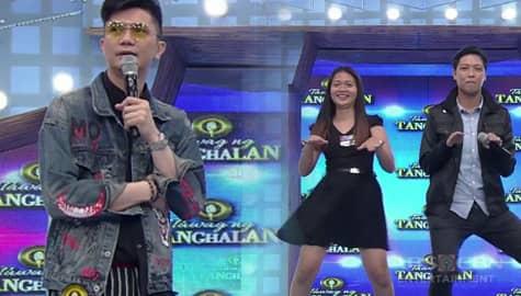 It's Showtime: Vhong, napasayaw si daily contender Jelu kasama ang kanyang asawa Image Thumbnail