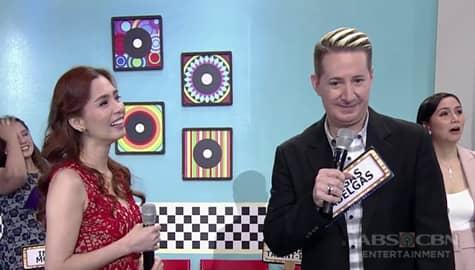 It's Showtime: Lorna Talent-ino, masaya sa napili niyang KapareWHO na si Vegas Abelgas Image Thumbnail
