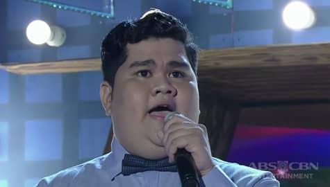 TNT 3: Visayas contender Kent Montes sings Martin Nievera's Say That You Love Me Image Thumbnail