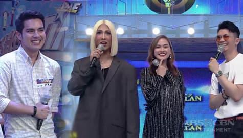It's Showtime: Vice Ganda, kinausap ang manliligaw ni daily contender Jean Image Thumbnail