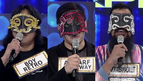 It's Showtime: 3 male celebrities join KapareWHO Image Thumbnail