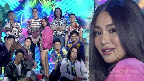 Nadine Lustre fires up the It's Showtime stage with her opening prod Image Thumbnail