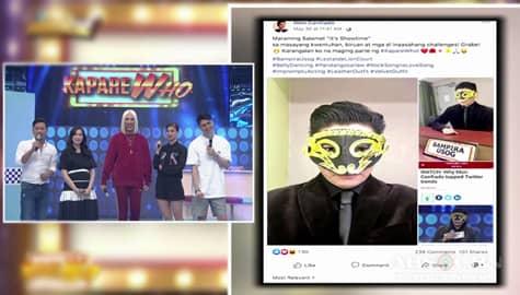 It's Showtime: Mon Confiado, may pasasalamat sa It's Showtime's KapareWHO! Image Thumbnail