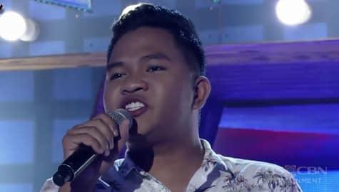 TNT 3: Luzon contender Emarjhun De Guzman sings Superstition Image Thumbnail