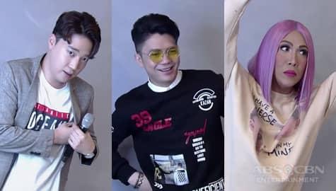 It's Showtime: Ryan, Vhong, at Vice, pinakitaan ang BidaMan contestants kung paano mag-pose sa pictorial Image Thumbnail