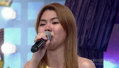 It's Showtime: Daily contender Charlene, naging emosyonal habang ikinukwento ang kanyang buhay Image Thumbnail