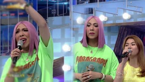 It's Showtime: Vice Ganda, naaliw sa ginawang kanta ni Charlene para sa kanya Image Thumbnail