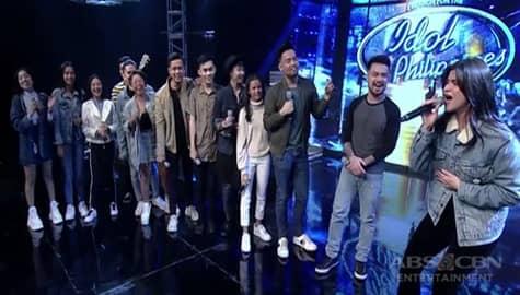 Anne, bumirit sa harap ng Idol Philippines Top 12 Image Thumbnail