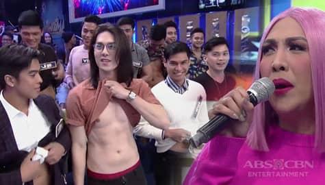 It's Showtime: Vice Ganda, hinamon ang BidaMan winners na ipakita ang kanilang abs Image Thumbnail