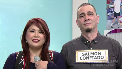 It's Showtime: Time To Say Good Vibes, masaya sa napili niyang KapareWHO na si Salmon Confiado Image Thumbnail
