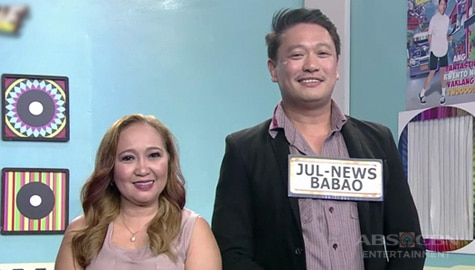It's Showtime: Accounting-Ker Bell, napili si Jul-News Babao bilang kanyang KapareWHO! Image Thumbnail