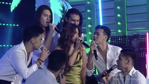 WATCH: Denise Laurel heats up It's Showtime stage with Bidaman winners! Image Thumbnail