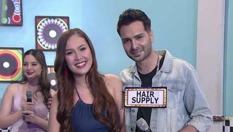 It's Showtime: Hair Supply, napili ni Deutsche Entertainment bilang kanyang KapareWHO! Image Thumbnail