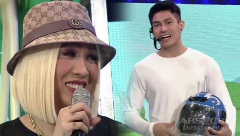 It's Showtime: Ion, may kakaibang helmet na dala para kay Vice Ganda Image Thumbnail