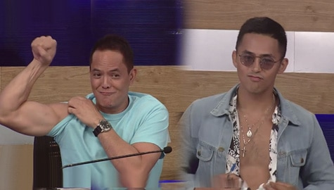 It's Showtime: Direk Bobet, may panlaban sa katawan ni Enzo Pineda
