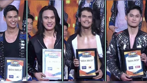 It's Showtime BidaMan The Big Break: Wize, Jay, Johannes, at Jervy, nakatanggap ng special awards Image Thumbnail