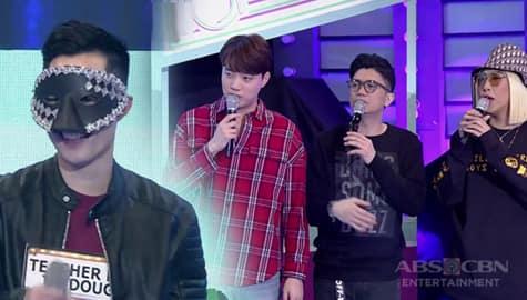 It's  Showtime: Vice Ganda, Vhong at Ryan, nabuwal matapos mag-english ni Teacher How To Dougie Image Thumbnail