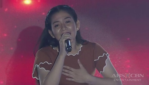 TNT 3: Mindanao contender Jade March Hipe sings Starting Over Again Image Thumbnail