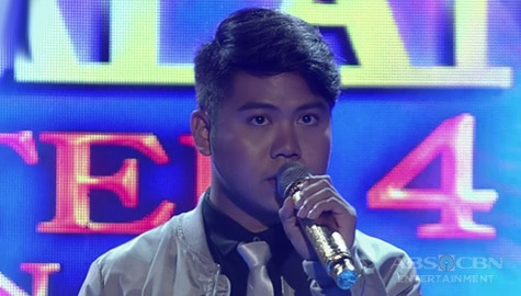 TNT 3 Quarter 4 semifinals Day 2: Dior Lawrence Bronia sings Make You Feel My Love Image Thumbnail