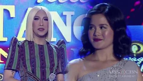 It's Showtime: Vice Ganda, nakipagtarayan kay Lea Magsayo gamit ang eksena sa Kadenang Ginto Image Thumbnail