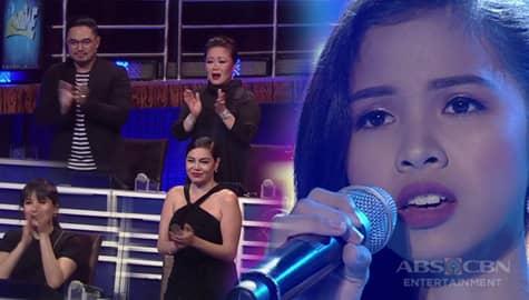 Instant Resbaker Shaina Mae, napatayo ang mga Hurados sa ipinakitang performance sa kantang Your Song Image Thumbnail
