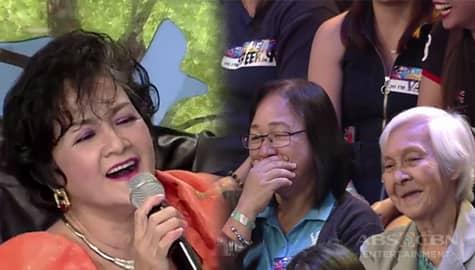 It's Showtime: Nanay Uno Dos Dress, pinasaya ang madlang people sa kanyang pag-awit Image Thumbnail