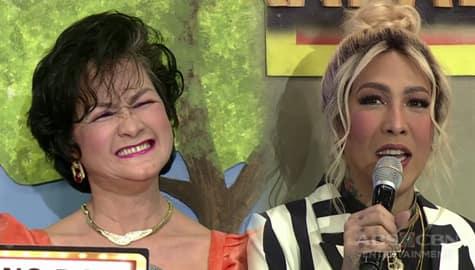It's Showtime: Vice, tutulungan si Senior WhoMahanap Uno Dos Dress sa kondisyon sa lalamunan Image Thumbnail