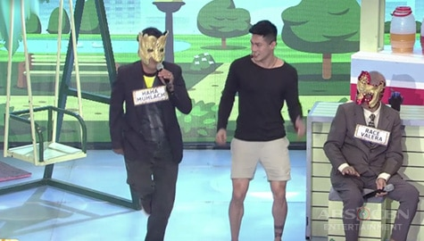 It's Showtime: Ion at Haha Muhlach, nag-dance showdown sa kantang Atin Cu Pung Singsing Image Thumbnail