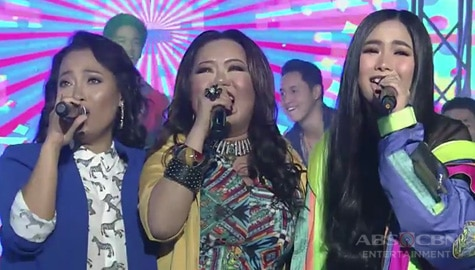 TNT Hurados Yeng, Jaya, and Dulce bring back the '90s vibes on It's Showtime stage! Image Thumbnail