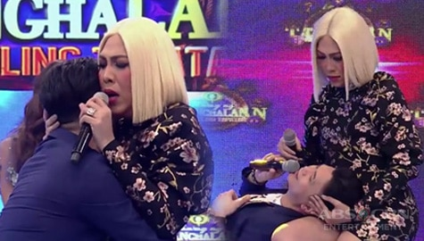 """It's Showtime: Vice Ganda at Vhong, isinadula ang """"Alamat Ng Suha"""" Image Thumbnail"""