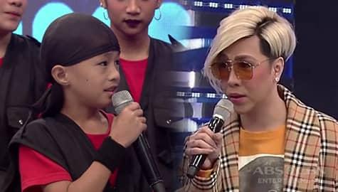 It's Showtime: Vice Ganda, napagsabihan ang isa sa miyembro ng Little Warriors Image Thumbnail