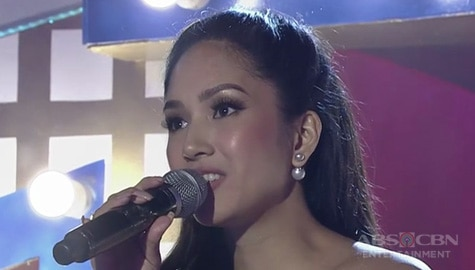 TNT Celebrity Champions: Roxanne Barcelo sings Somewhere Over The Rainbow Image Thumbnail