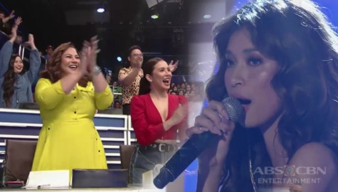 MOR DJ Ana Ramsey receives standing ovation from the hurados on TNT Celebrity Edition Image Thumbnail